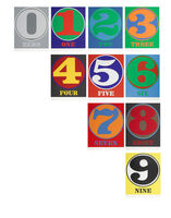 Robert Indiana, 'Numbers (S. 46-55)', 1968
