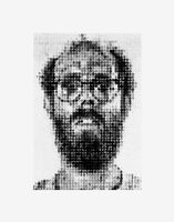 Chuck Close, 'Self-Portrait', 1988