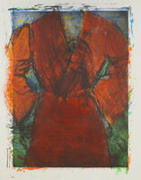 Jim Dine, 'Robe with Wasp Nest', 2013