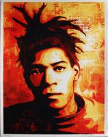 Shepard Fairey, 'Basquiat', 2010