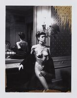 Helmut Newton, 'Jane Kirby, Paris.', 1977