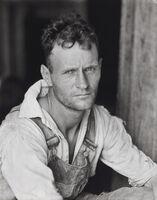 Walker Evans, 'Floyd Burroughs, Hale County, Alabama', 1936