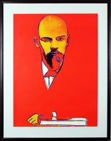 Andy Warhol, 'Red Lenin (FS II.403)', 1987