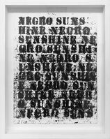 Glenn Ligon, 'Study for Negro Sunshine II, #36', 2011