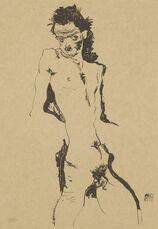 Male Nude (Self Portrait) I (Kallir 1)