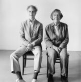 Merce Cunningham and John Cage Seated