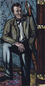 Max Beckmann, 'Perry T. Rathbone', 1948