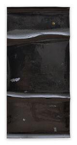 Harald Kröner, 'Black River 11 (Abstract work on paper)', 2016