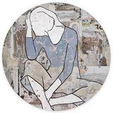Seated Girl (tondo)