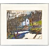 Untitled Fall Landscape (Allan Stone Collection)