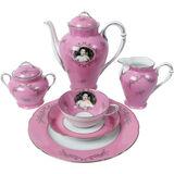 Madame de Pompadour (née Poisson) Tea Service