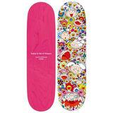 Kaikai and Kiki skateboard