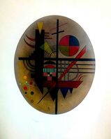 Wassily Kandinsky, 'Message Intime', 1925