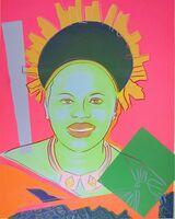 Andy Warhol, 'Reigning Queens: Queen Ntombi Twala of Swaziland', 1985