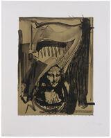 Jasper Johns, 'Figure 7 (from Black Numeral Series)', 1968