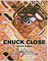 Chuck Close, 'Chuck Close Recent Works (Hand Signed)', 2002