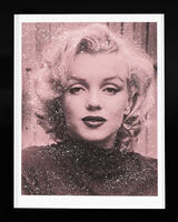 Russell Young, 'Marilyn Monroe with Diamond Dust (Rose Pink)', 2019