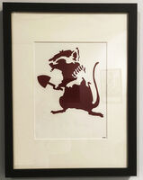 Banksy, 'Bizarre2002 - Rat the Stencil', 2002