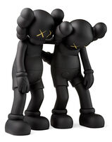 KAWS, 'KAWS Along The Way Companion Black (KAWS Black Along The Way)', 2019