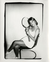 Andy Warhol, 'Andy Warhol, Photograph of Chris Evert Lloyd circa 1986', ca. 1986