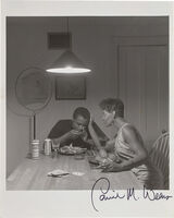Carrie Mae Weems, 'Untitled - Man Eating Lobster [From the Carrie Mae Weems: Kitchen Table Series]', circa 1990