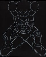 KAWS, 'Companion Vs Astroboy', 2002