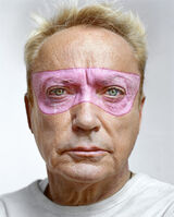 Martin Schoeller, 'Udo Kier with Pink Mask'