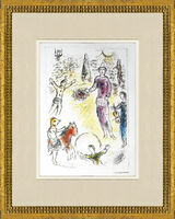 Marc Chagall, 'Les Clowns Musiciens', 1981