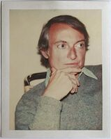 Andy Warhol, 'Polaroid Photograph of Roy Lichtenstein (Authenticated)', 1975