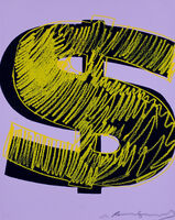 Andy Warhol, 'Dollar Sign', 1982