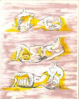 Henry Moore, 'The Reclining Figures', 1971