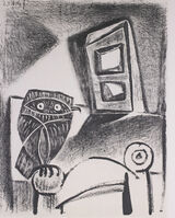 Pablo Picasso, 'Hibou a La Chaise (Owl in the Chair), 1949 Limited edition Lithogrph by Pablo Picasso', 1949