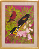Hunt Slonem, 'Red Tangiers', 1982
