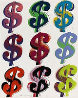 Andy Warhol, 'Dollar Sign (9) FS II.286', 1982
