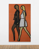 Julian Opie, 'Tina and Harriet walking.', 2020