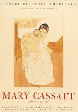 Mary Cassatt, Peintre et Graveur, Centre Culturel Americain