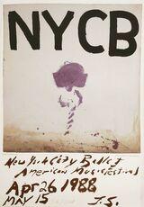NEW YORK CITY BALLET POSTER