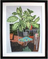 Jonas Wood, 'Landscape Pot with Flower poster', 2015