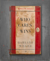 Harland Miller, 'Who Cares Wins', 2019