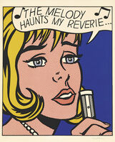 Roy Lichtenstein, 'Reverie, from 11 Pop Artists, Volume II (C. 38)', 1965
