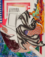 Frank Stella, 'Moby Dick, from Waves II', 1989