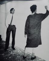 "Andy Warhol, '""Untitled(Jon Gould & Jean Michel Basquiat)""', 1984-1985"