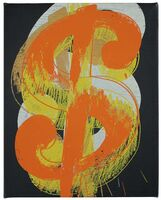Andy Warhol, 'Dollar Sign', 1981