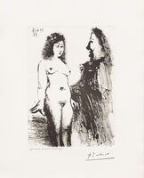Pablo Picasso, 'Jeune Prostitutee et Mousquetaire, from the 347 Series', 1968