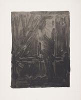 Jasper Johns, 'Figure 4, from Black Numeral Series', 1968