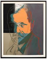 Andy Warhol, 'Sigmund Freud, from Ten Portraits of Jews of the Twentieth Century. ', 1980