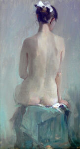 Oleg Aleksandrovich Leonov, 'Nude', 1989