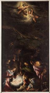 Jacopo Bassano, 'The Nativity and the Sheperds Worship', 1582