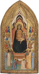 Bernardo Daddi, 'Madonna and Child with Saints and Angels', 1330s