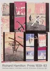 Richard Hamilton Prints 1939-83 (Exhibition poster)